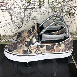 Vans ASPCA Dog slip on shoe women's  size 7